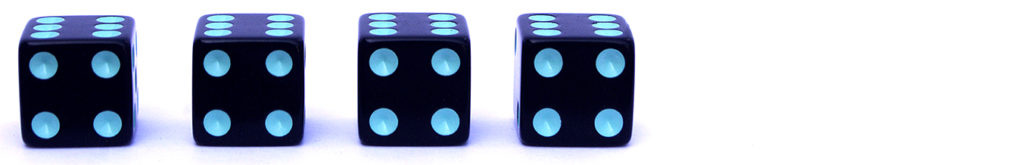 Rating of four out of six dice