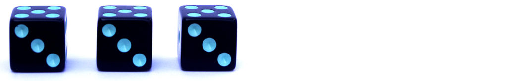 rating of three dice out of six