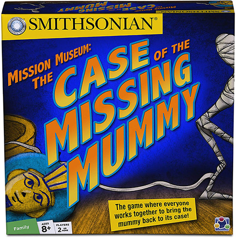 Case of the Missing Mummy game box