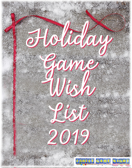 Holiday Game Wish List 2019