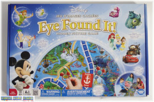 Disney's Eye Found It game box front