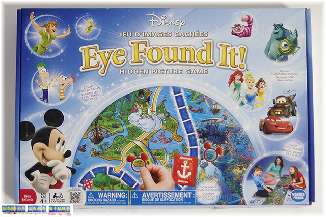 Disney's Eye Fouund It Game box