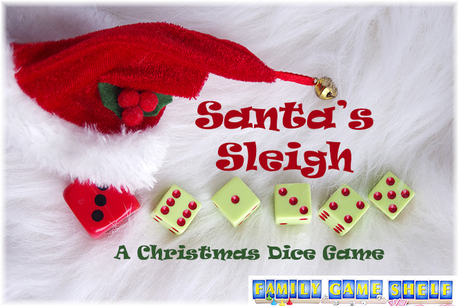 Santa's Sleigh Dice Game