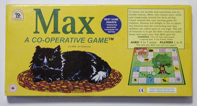 Max board game box