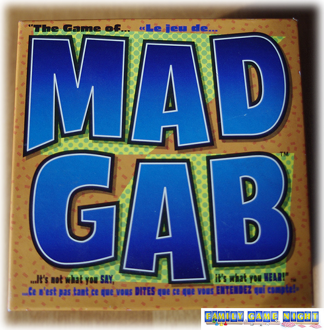 Mad Gab the game box