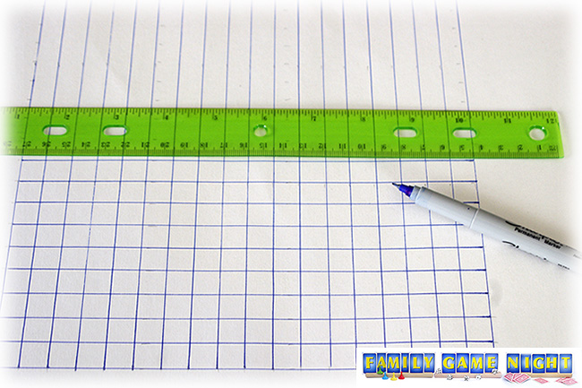 Measure and draw a grid