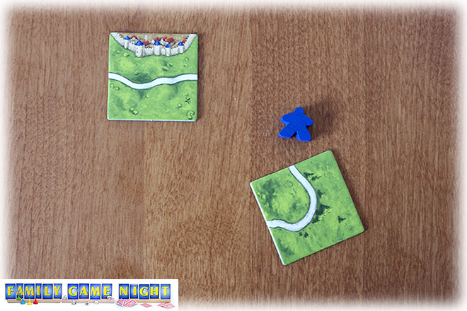 Pieces of Carcassonne can have road sections