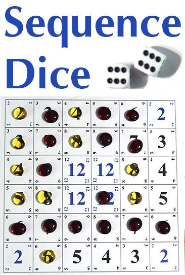 Sequece Dice Dice Games Familygameshelf Com