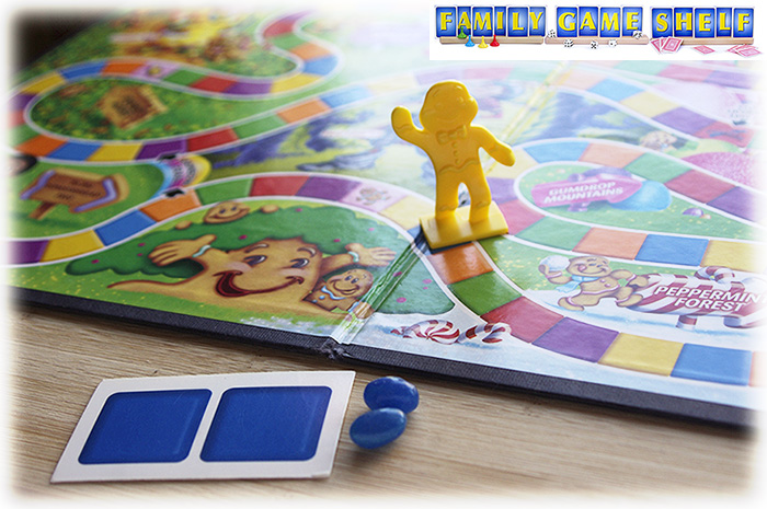 In Halloween Board Game Party, jelly beans are added to the classic game Candy Land