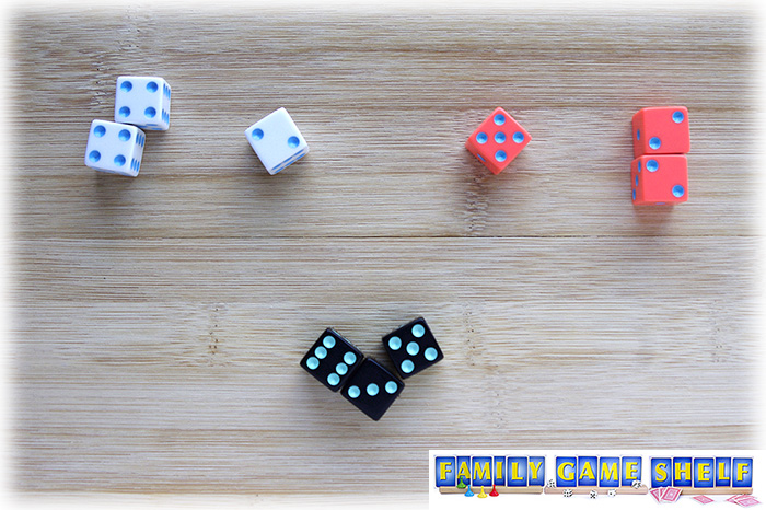 If doubles are not rolled, the player sits out.